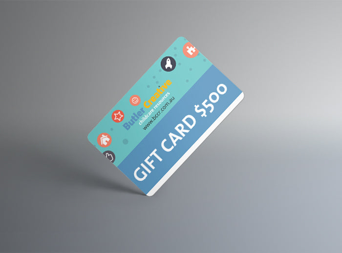 Butler Creative Childcare Resources Gift Card $500  Image