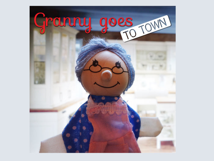 Yoga Story CD - Granny Goes to Town - Butler Creative Childcare Resources