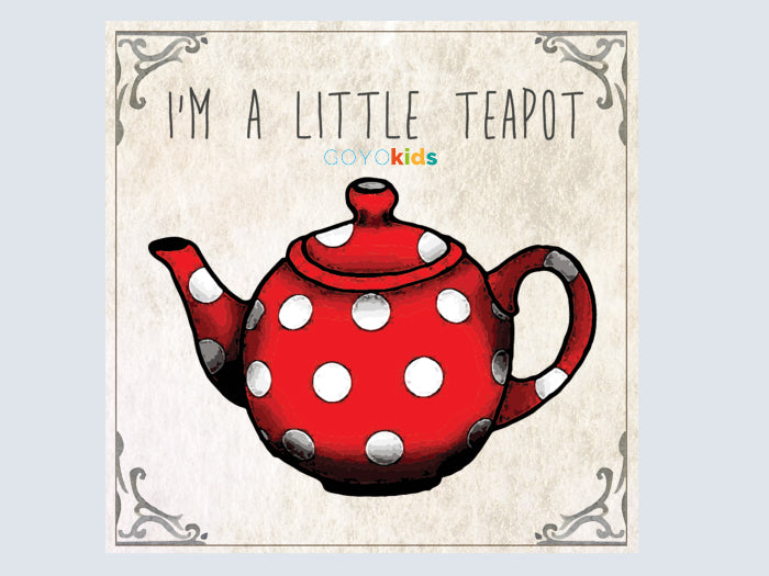 Yoga Story CD - I'm a Little Teapot - Butler Creative Childcare Resources