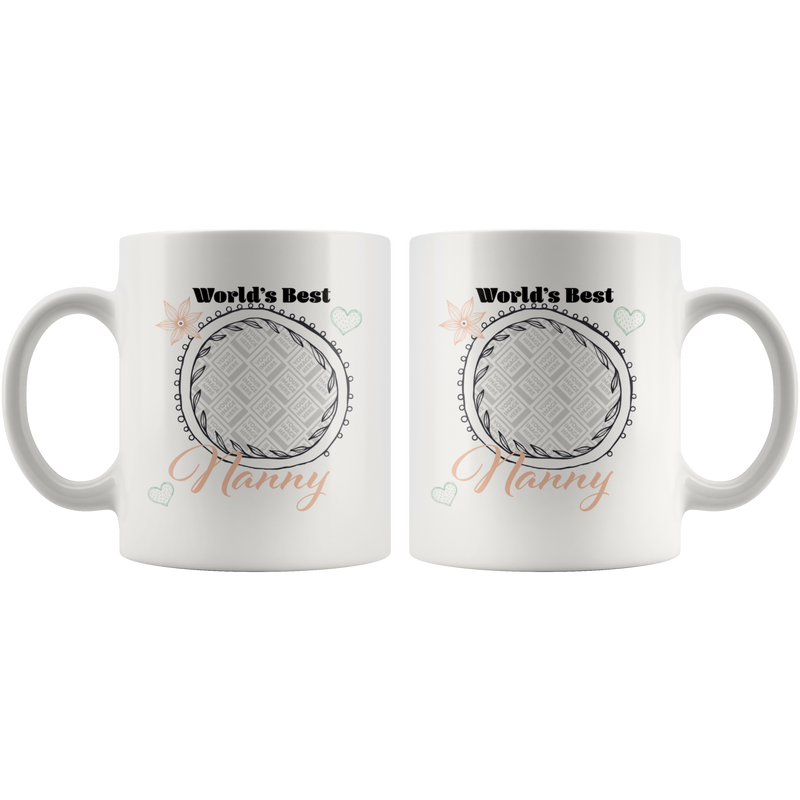World's Best Nanny Mug - Butler Creative Childcare Resources