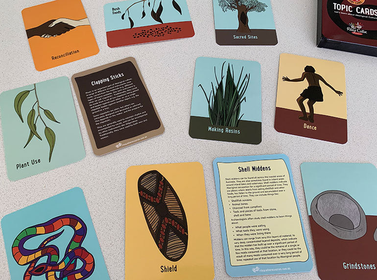 Aboriginal Topic Cards - Butler Creative Childcare Resources