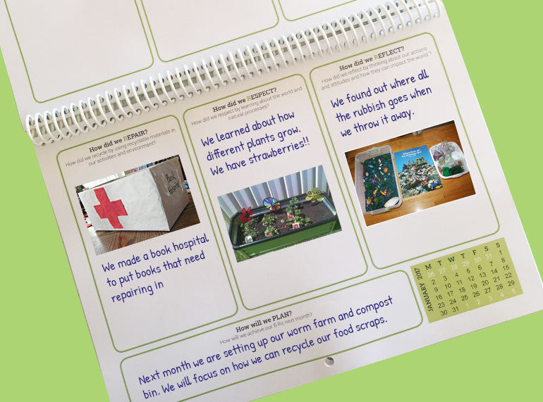 Our Sustainable Year 2020 Wall Calendar - Butler Creative Childcare Resources