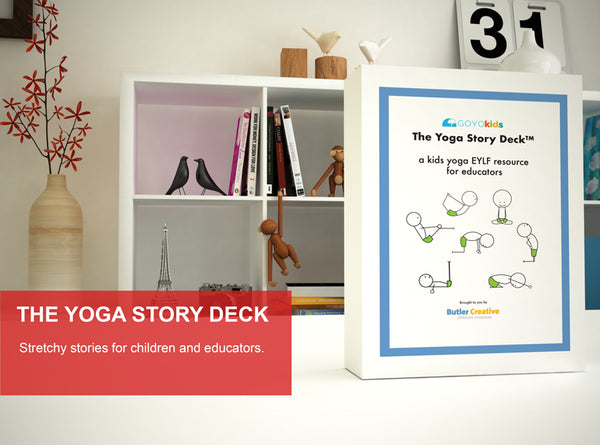 The Yoga Story Deck - Butler Creative Childcare Resources