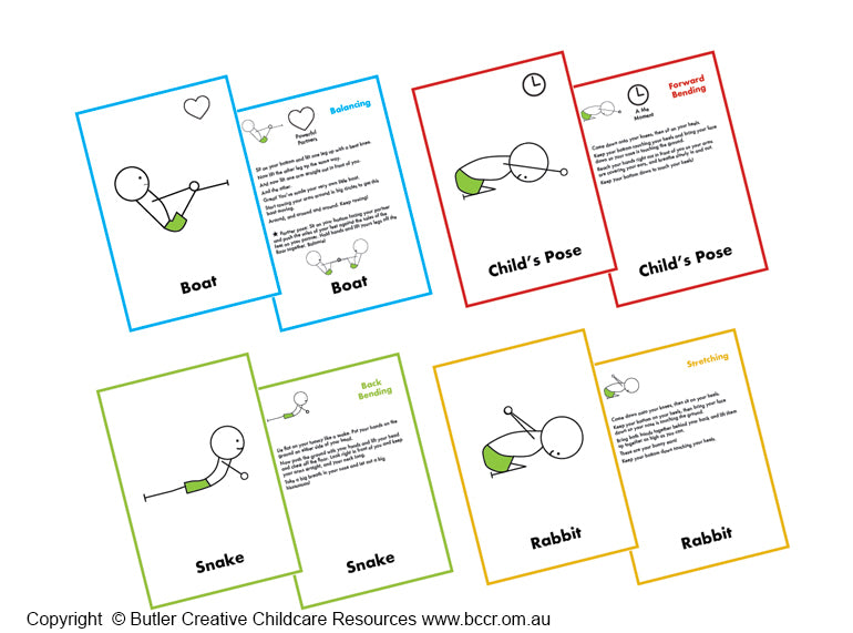 The Yoga Story Deck (PREORDER) - Butler Creative Childcare Resources