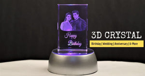 3d Crystal Personalised Gifts Birthday Gift Wedding Gifts Mementos Fusion Crystals