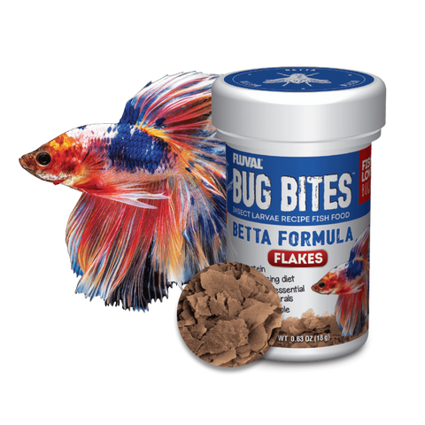Fluval Bug Bites Betta Flakes