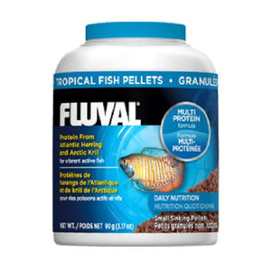 Fluval Food Tropical Small Sinking Pellets