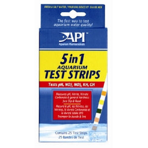 API Test Strips - 5 in 1 (25 tests)