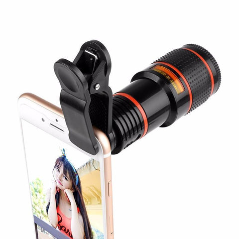 12x QX9-HD Zoom Lens For Smartphone - OptiZoom ™ - Optical Zoom