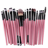 20 PCS Beauty Makeup Brushes Set - makeup brush