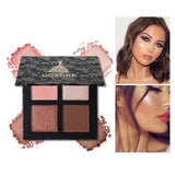 4 Colors Highlighter Makeup Palette - Makeup