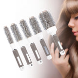 5 Sizes Round Barrel Hair Brush - Hair Brush
