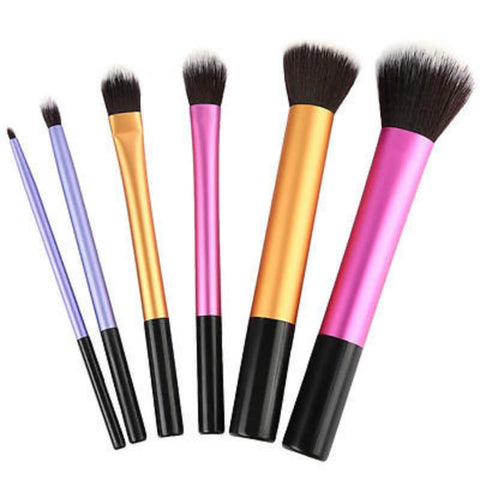 6 PCS Premium Quality Makeup Brushes Set - makeup brush