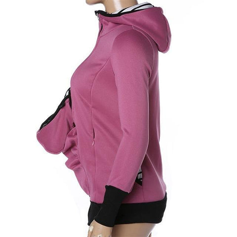 Baby Carrier Hoodie - 3 In 1 Sweatshirt - Baby Carrier