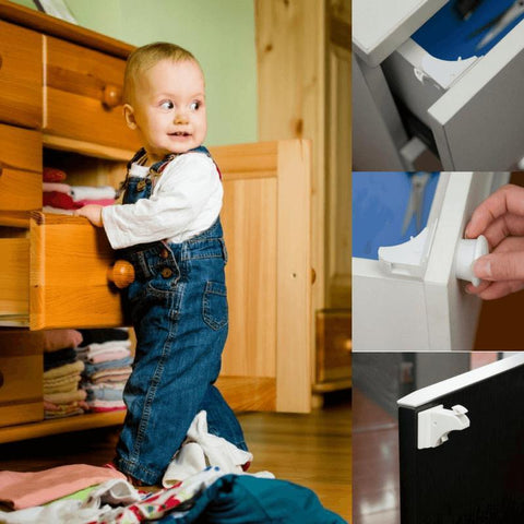 Baby Safety Magnetic Cabinet Lock - Locks