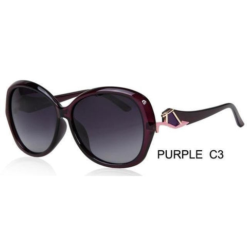 Butterfly Polarized Sunglasses For Women - Sunglasses