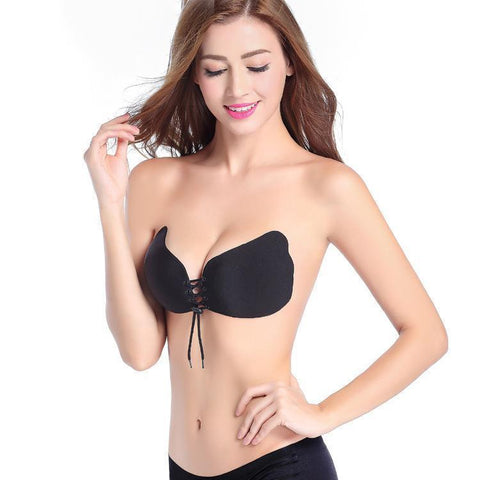 Butterfly Strapless Push Up Bra - Bra