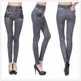 Denim Leggings For Women - Jeans