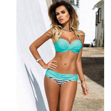 Elegant 2-Piece Push Up Bikini For Women - Swimsuit
