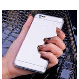 Fashion Makeup Mirror iPhone Case - Phone Case