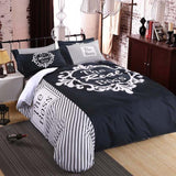 Funny Couple Bedding Set - Bedding Sets