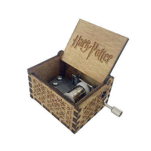 Harry Potter Wooden Music Box - Wooden Music Box