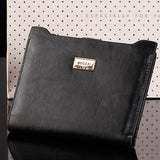 Leather Wallet With Zipper For Women - Purse