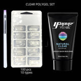 Non Cleansing Clear Nail Gel - Nail Gel