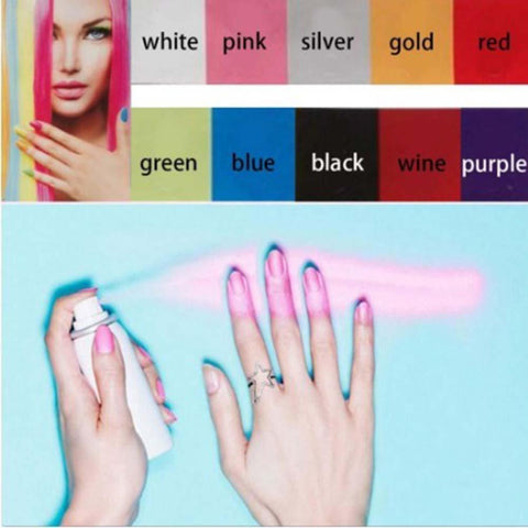 Professional Spray Nail Polish - Makeup