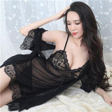 Sexy Nightwear Bathrobe For Women - Bathrobe