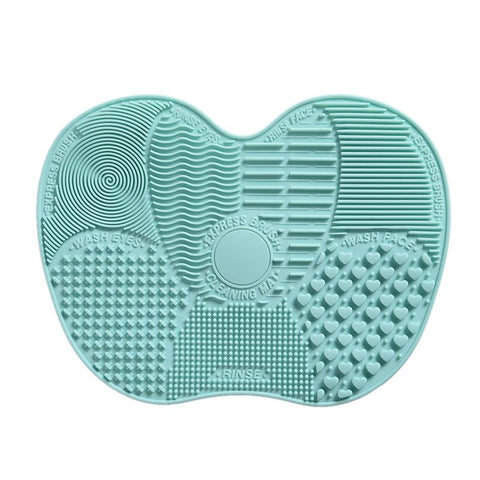 Silicone Makeup Brush Cleaning Mat - Brush Cleaner