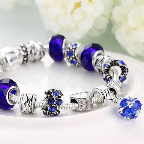 Silver Fashion Bracelet For Women - Bracelet