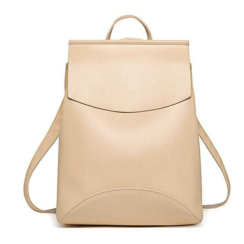 Simple Leather Bag For Women - Bag