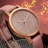 Simple Leather Watch For Women - Watch