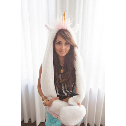 Unicorn Plush Hat - Hat