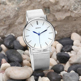 Women's Fashion Mesh Watch - Watch