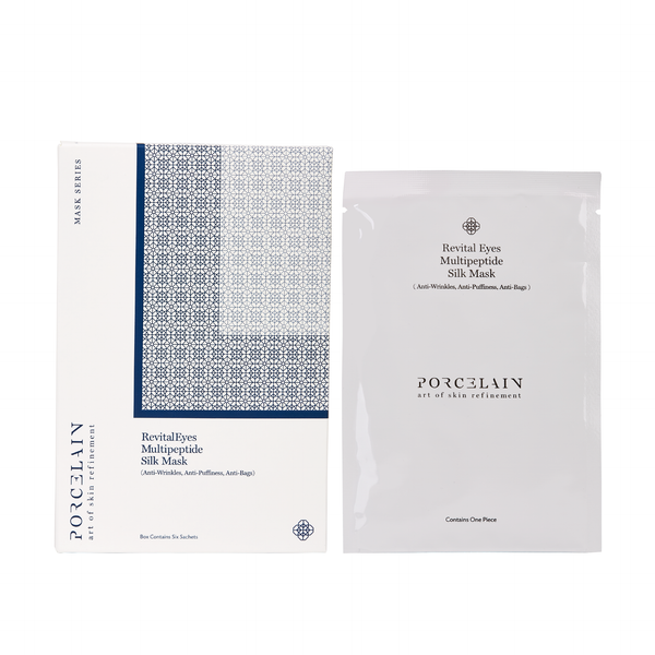 Revital Eyes Multipeptide Silk Mask