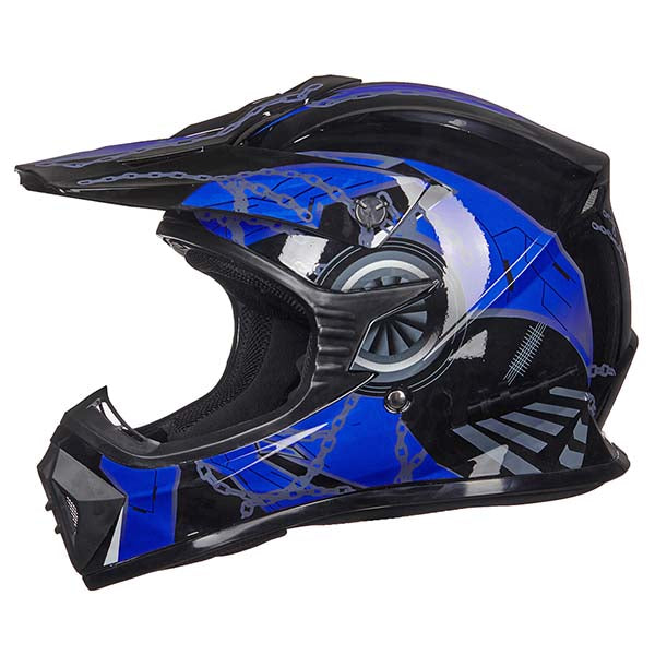 ILM Adult ATV Motocross Dirt Bike Motorcycle BMX MX Downhill Off-Road Helmet