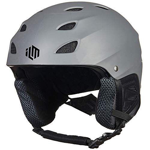 ILM Ski Helmet Snowboard Snow Sports Sled Skate Outdoor Recreation Gear for Men Women ASTM Certified