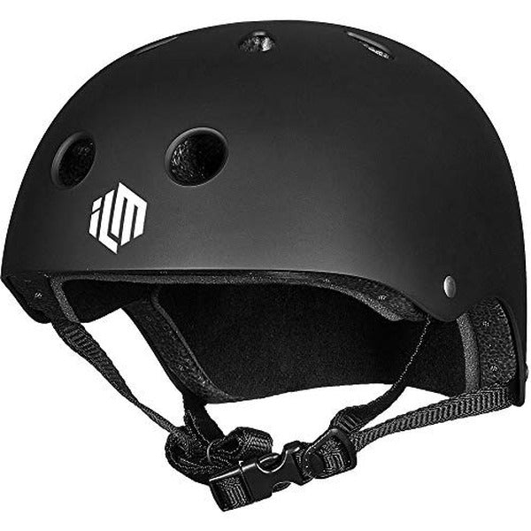 ILM Skateboard Helmet Impact Resistance Ventilation for Cycling Skateboarding Scooter Outdoor Sports
