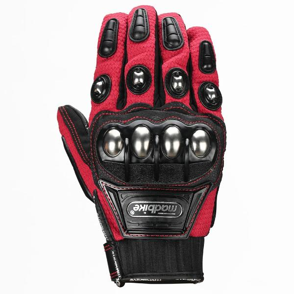 ILM Madbike Steel Knuckle Motorcycle Gloves