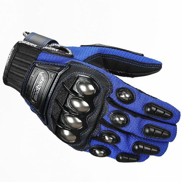 ILM Madbike Steel Knuckle Motorcycle Gloves/Summer/Winter Use