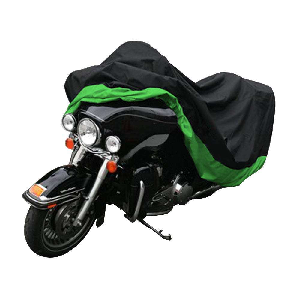 "Motorcycle Cover Waterproof Sunblock Dustproof Outdoor Garage Motor Cover with 3 Adjustable Buckles XXXL Fit up to 108"" Harley Davidson Honda Suzuki Kawasaki Yamaha Ducati KTM BMW"