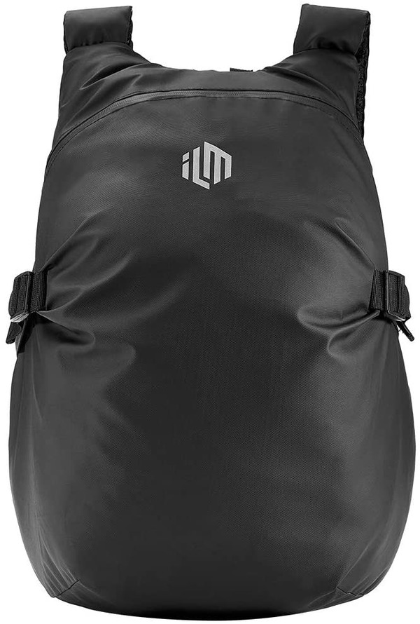 ILM Motorcycle Helmet Backpack Large Capacity Waterproof Lightweight Storage Bag with Reflective Stripe