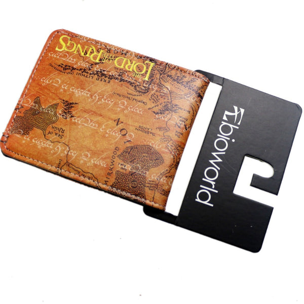 The Lord of the Rings Middleearth Map Leather Wallet  G33KERY