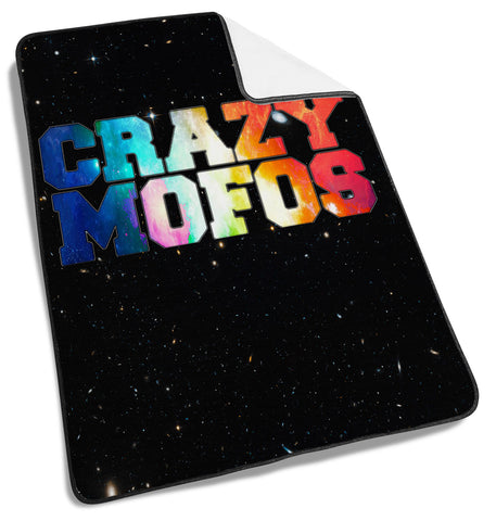 1D One Direction Crazy Mofos Galaxy Blanket