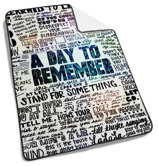 A Day to Remember Blanket