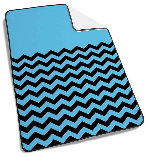 chevron blue tribal Blanket