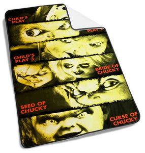 Chucky Collection Movie Blanket