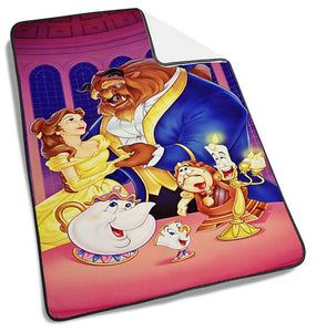 Disney beauty and the beast rose Blanket